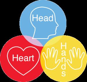 head-heart-hands concept