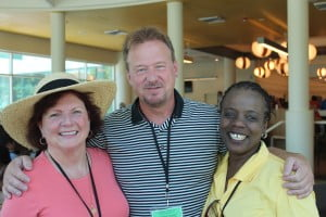 Chris & Ndinda ran into Rev. Frank Schaefer at Annual Conference!